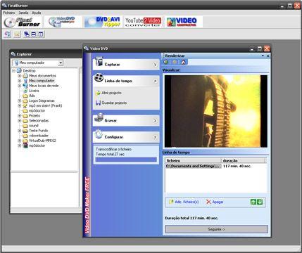visualização de Video DVD Maker Free