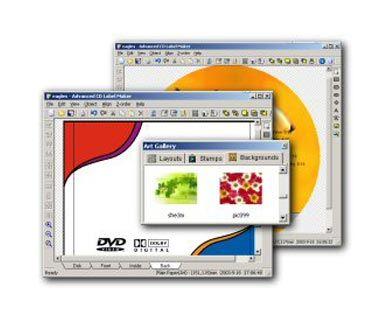 visualização de Apollo CD & DVD Label Maker