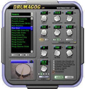 visualização de Drumagog