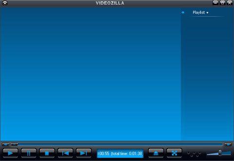 visualização de VideoZilla