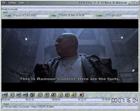 visualização de DVDx