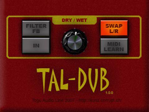 visualização de TAL-Dub