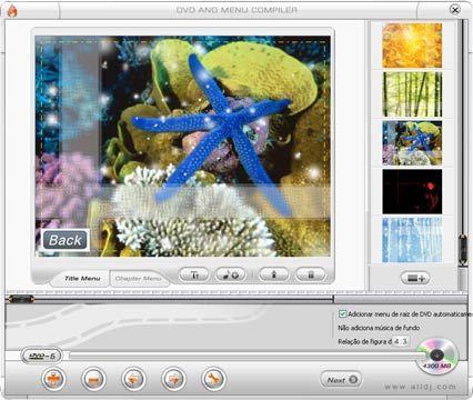 visualização de Super DVD Creator