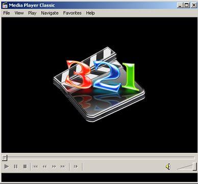 visualização de Windows Media Player Classic for Win 2k/XP