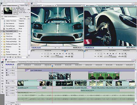 visualização de Adobe Premiere Pro