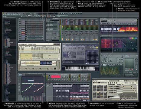 visualização de FL Studio