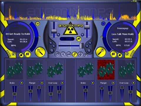 visualização de AtomixMP3
