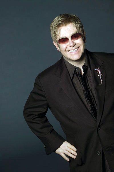 Elton John - Magazine cover